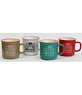 """CANECAS 22125 - """"COFFEE TIME"""""""